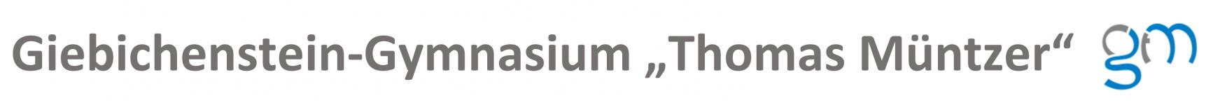 """Logo de Giebichenstein-Gymnasium """"Thomas Müntzer"""""""