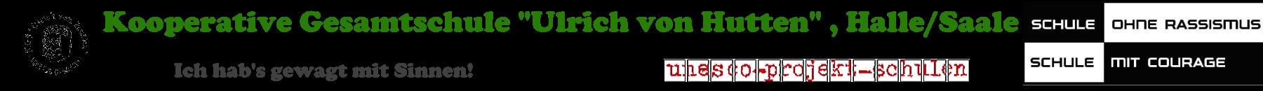 """KGS """"Ulrich von Hutten"""", Halle"""